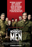 Monuments Men movie poster malaysia