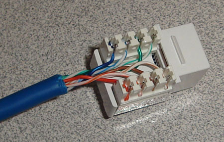 Mega IT Support rj45 wall jack