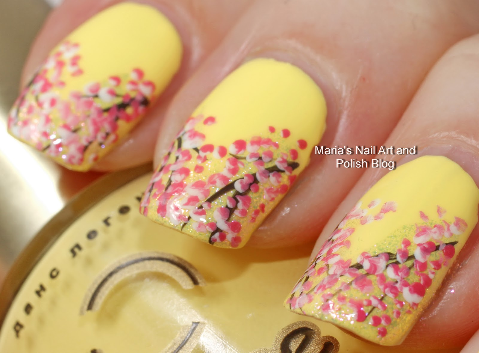 V shaped nail designs ~ Beautify themselves with sweet nails