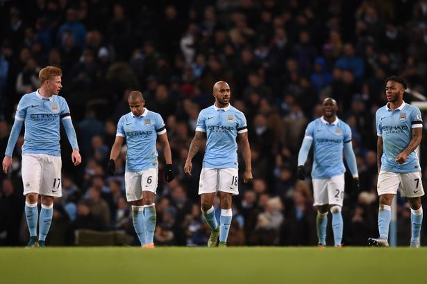 Got the Blues: City were not at their best