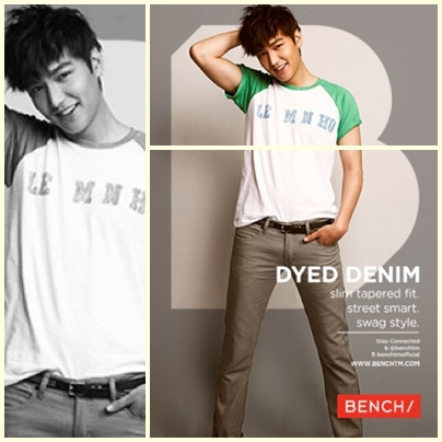 Lee Min Ho for Bench Back to School Denim Campaign 2013