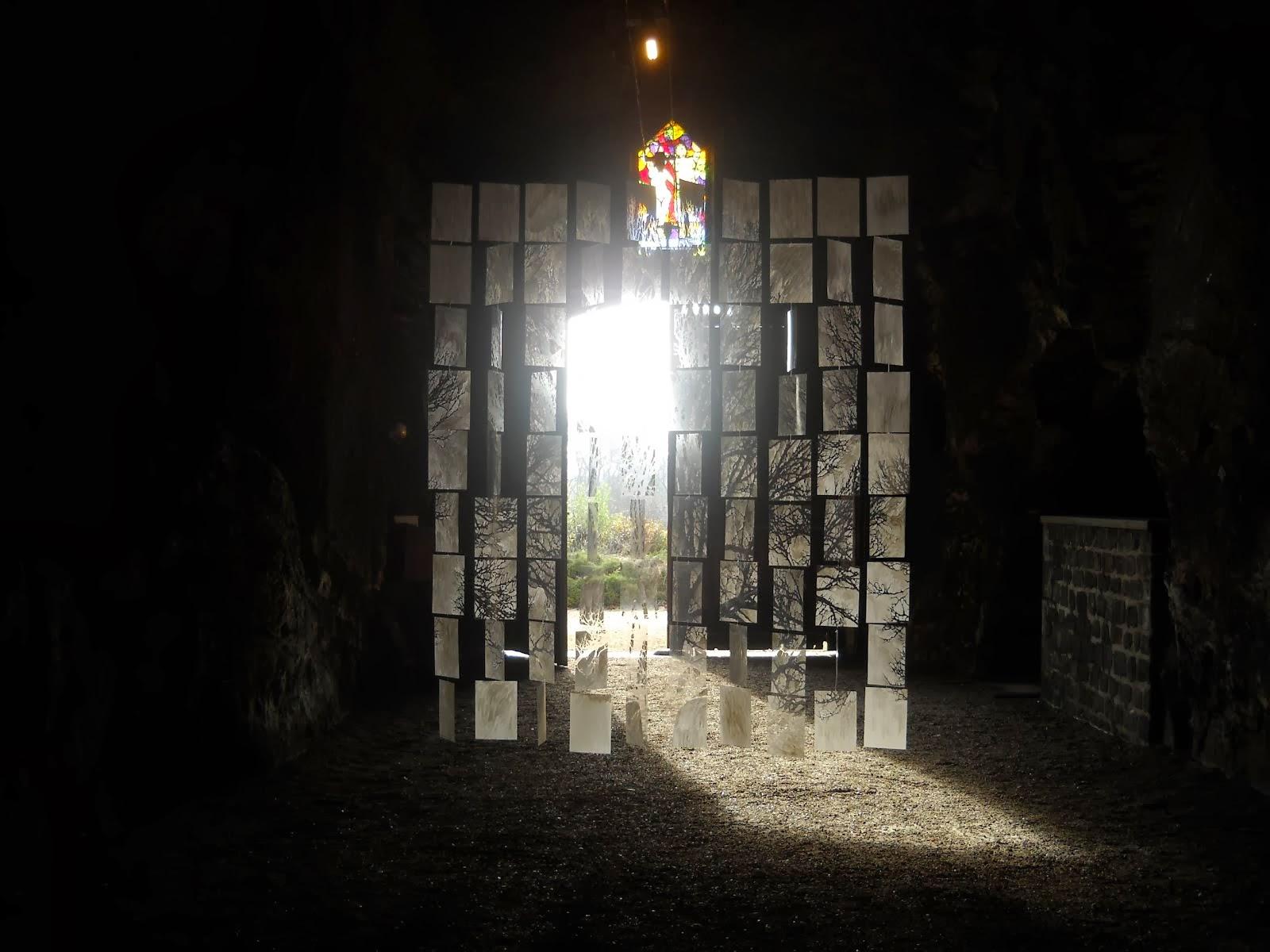 Les spectres (détail) - Cave Monplaisir, Chinon - 2013