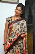 Syamala glamorous photos in saree-thumbnail-17