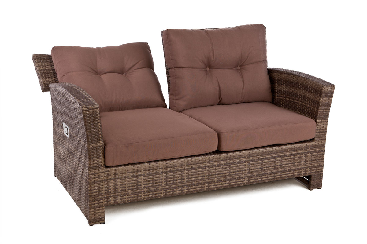 Outside Edge Garden Furniture Blog Rattan 4 seater sofa set for outdoor with
