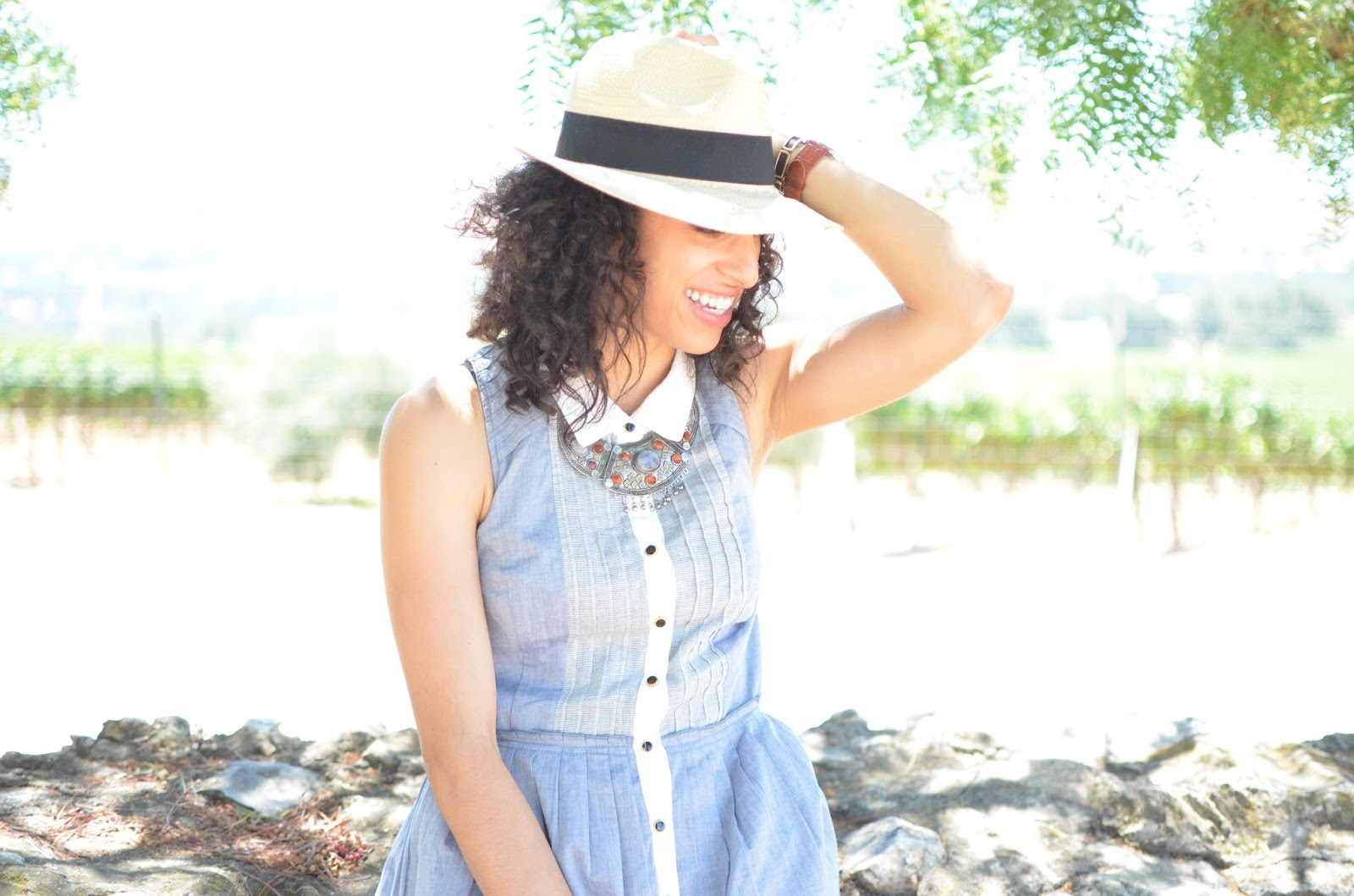 Style Dilemma ~ What to Wear Winetasting on a Hot August