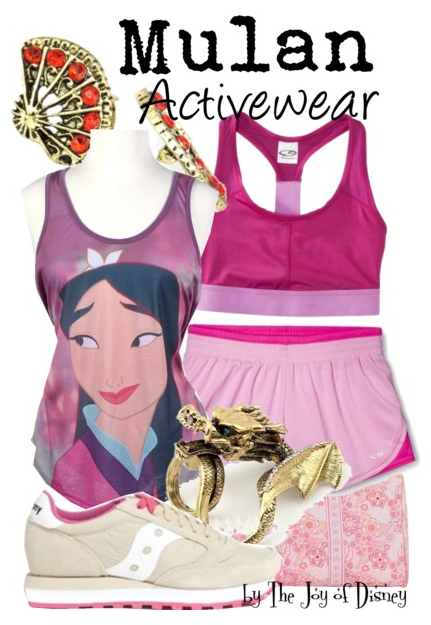 Mulan Inspired Outfit, Exercise Fashion