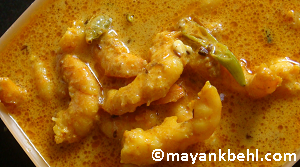 chingri-macher-malai-curry recipe