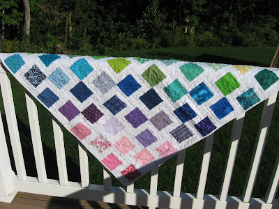 Rainbow Quilt ~ Version Two!