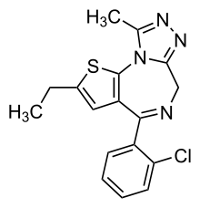 Etizolam Chemical Structure