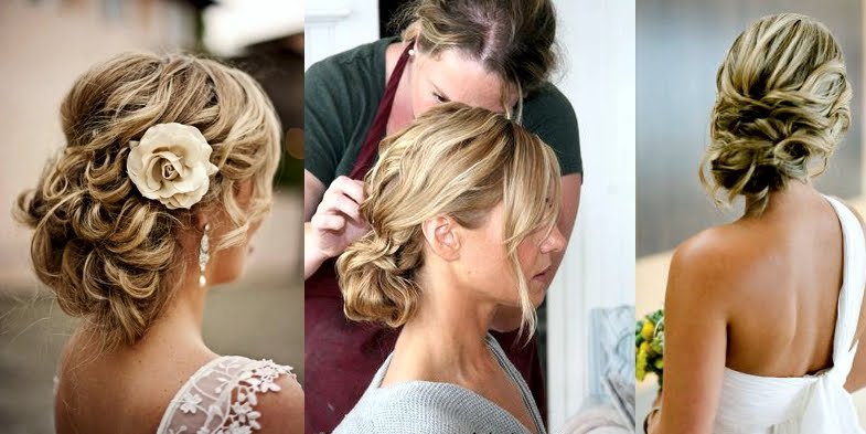 Messy and beautiful wedding hairstyles junglespirit Image collections