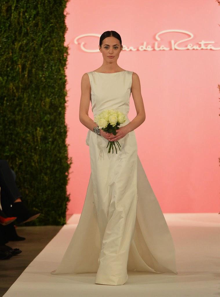 Oscar de la Renta 2015 Gelinlik Modelleri