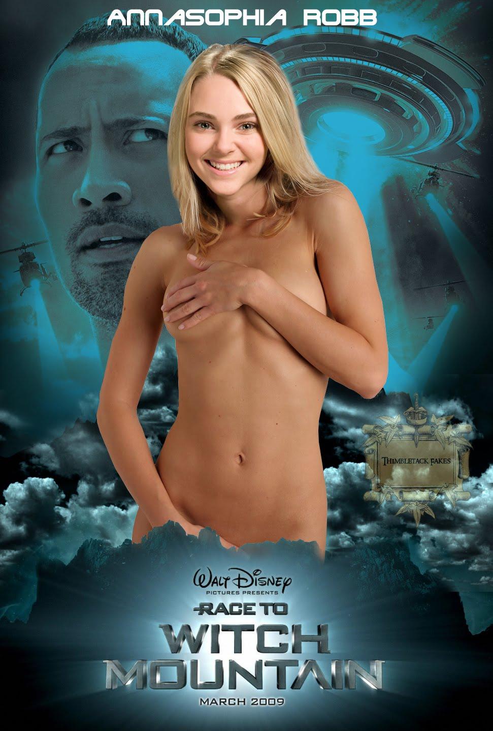 Annasophia Robb Nude Fakes