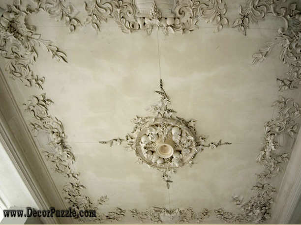 ceiling molding and medallions luxury ceiling design ideas - Ceiling Molding Design Ideas