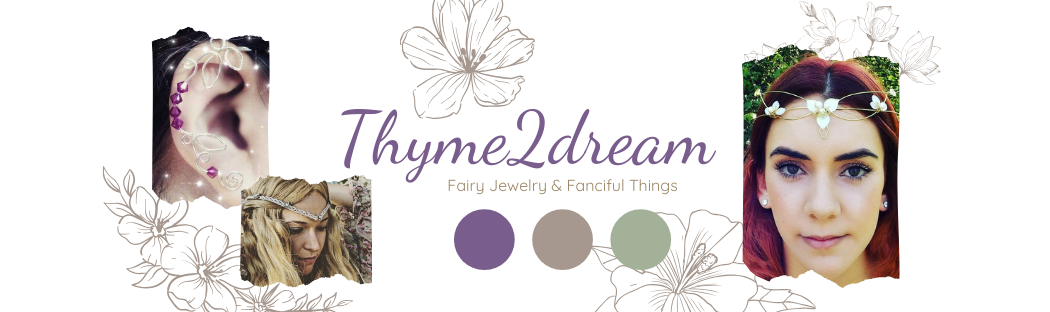 Thyme2dream Fairy Jewelry