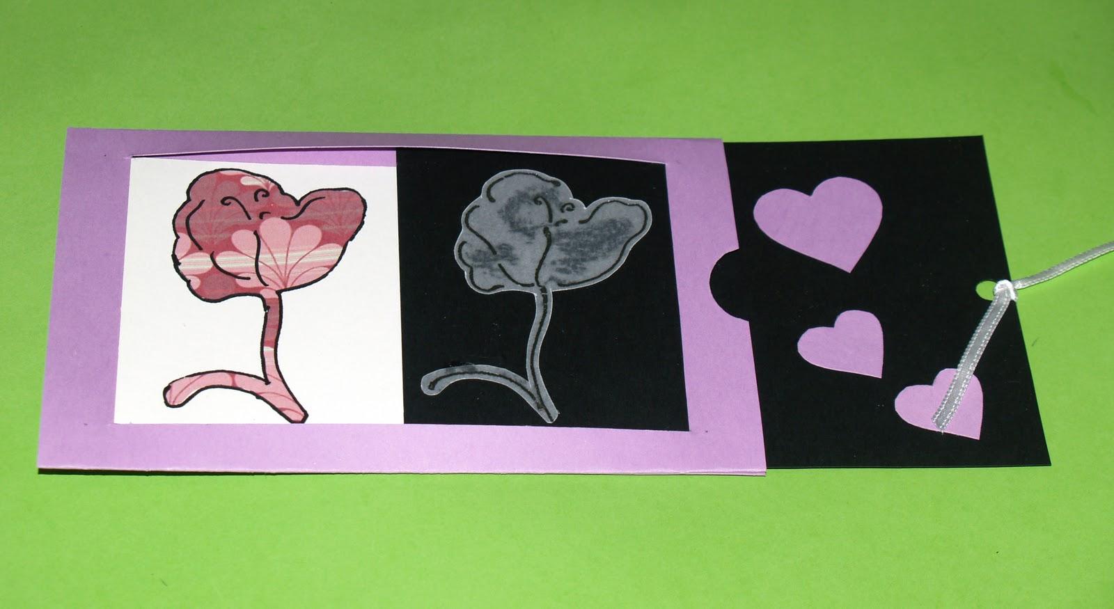 tarjeta deslizante enamorados