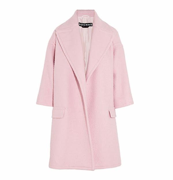 Rochas pink coat