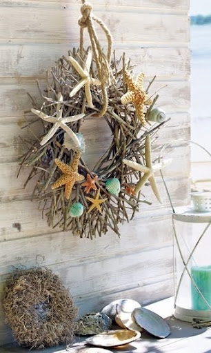 coastal Fall wreath
