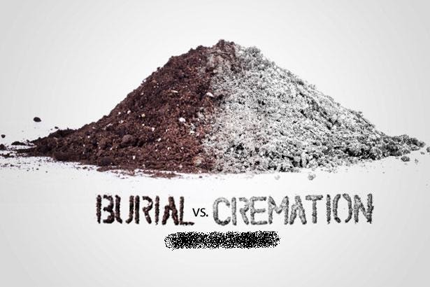 Let's talk about it...: IS CREMATION CHEAPER THAN BURIAL?