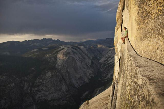 Alex Honnold Half Dome Yosemite Free Soloing No Rope