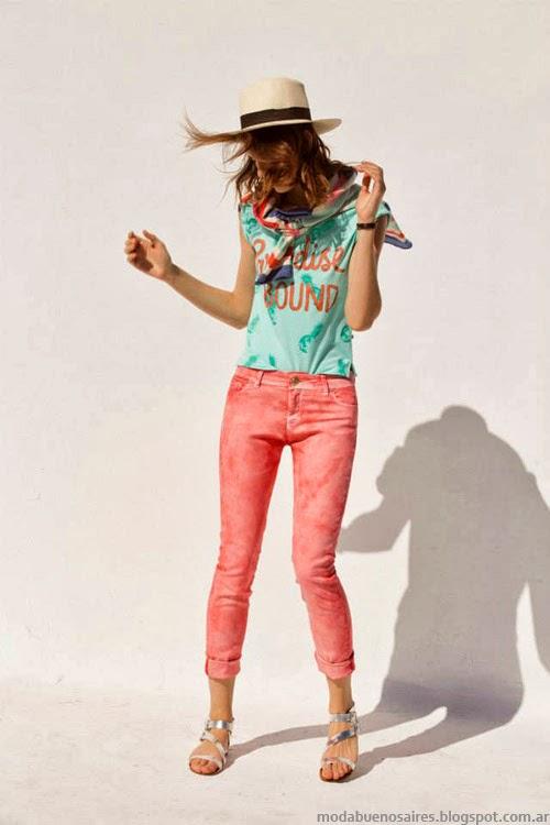 Looks moda primavera verano 2014 Inedita Argentina.
