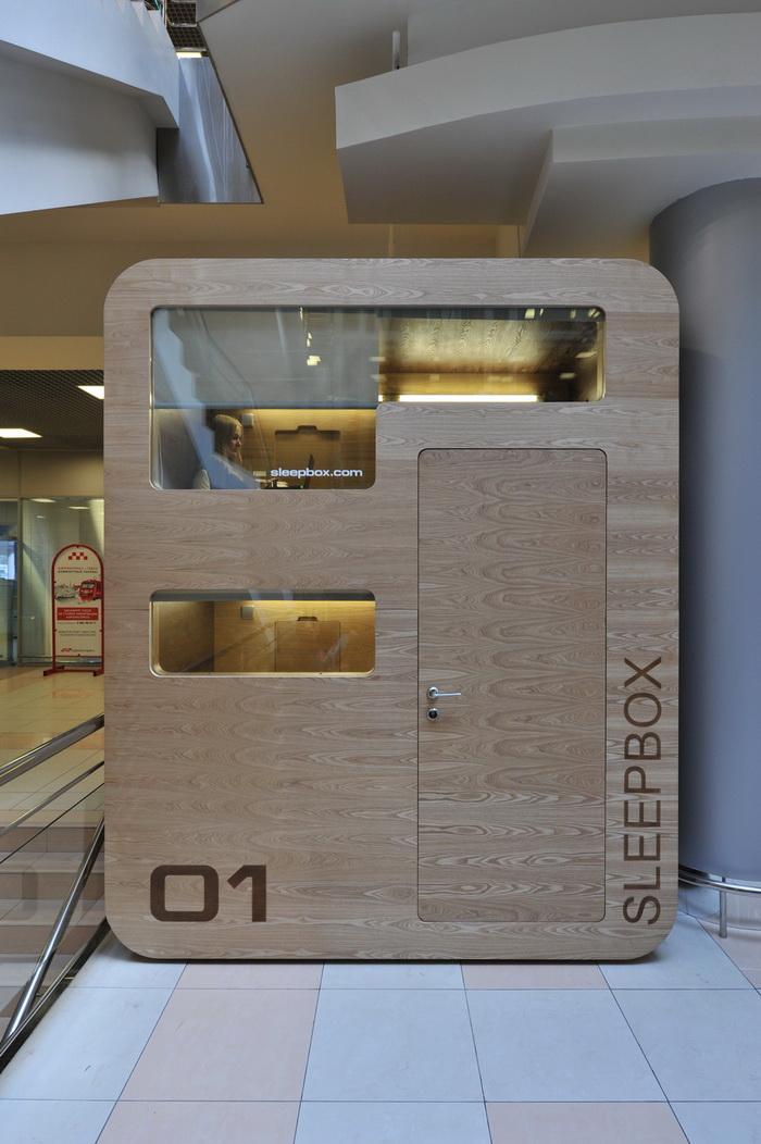 Portable Sleeping Rooms : Sleepbox portable hotel room