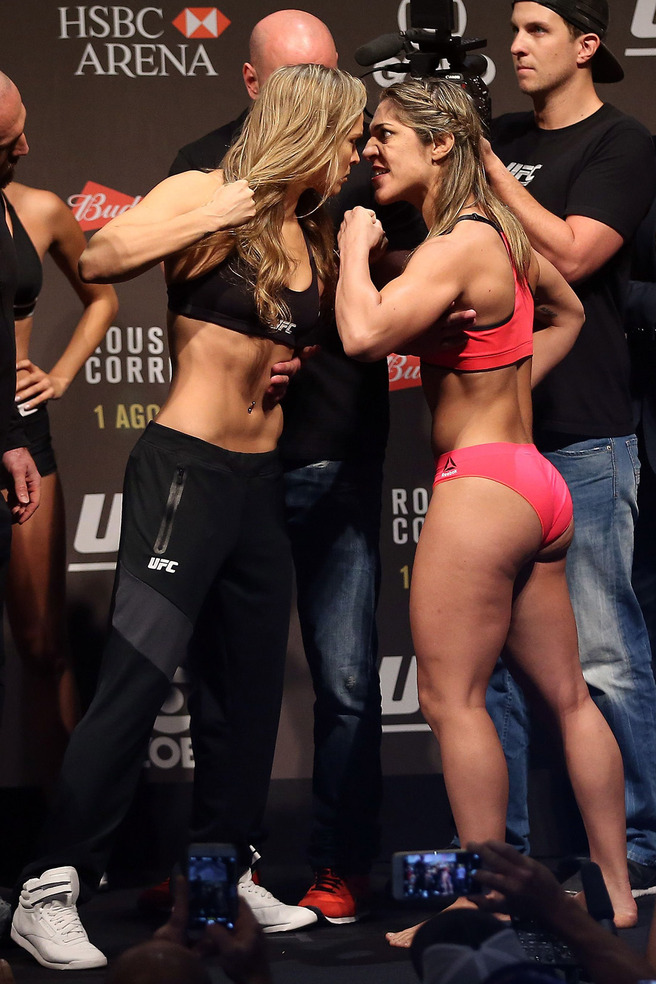 Female MMA fighter Ronda Rousey of autobiography