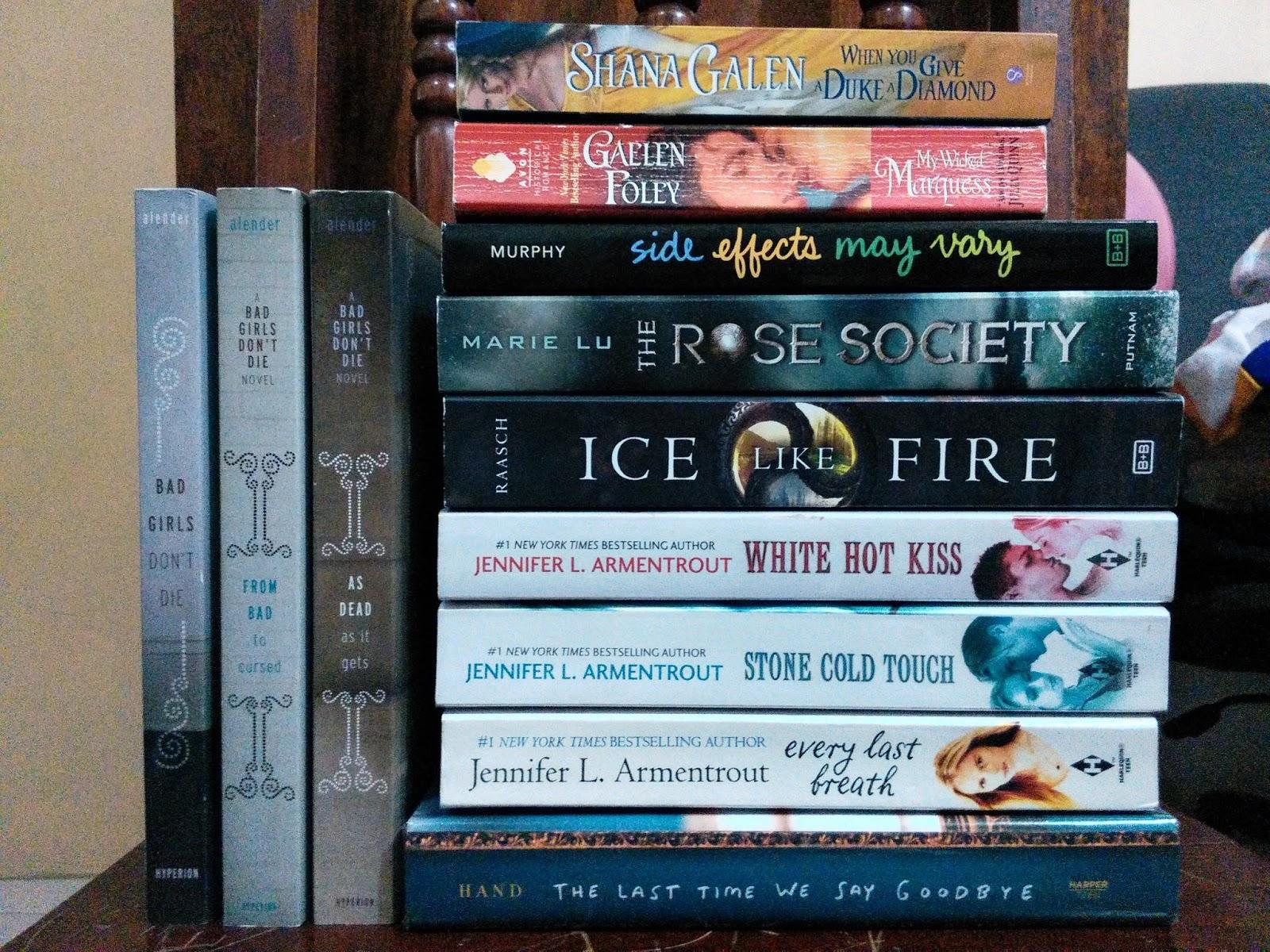 My (Zee) book haul