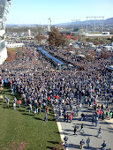 PSU Gameday-The Busses Arrive 11-12-11