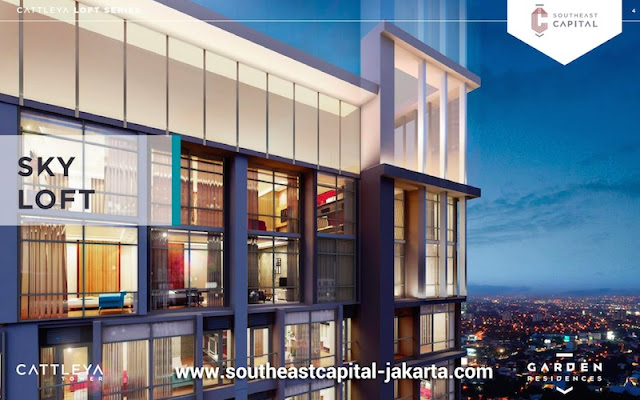 Sky Loft Cattleya Tower Apartment Southeast Capital