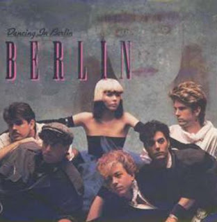Berlin's album cover for Dancing in Berlin 1984