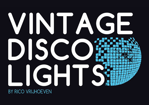 VINTAGE DISCO LIGHTS by RICO VRIJHOEVEN