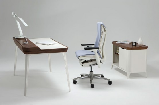 Interior Design Stylish Work Desk For Modern Home Office From