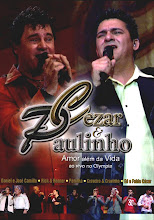 DVD - Cezar e Paulinho Amor Além da Vida Ao Vivo no Olympia