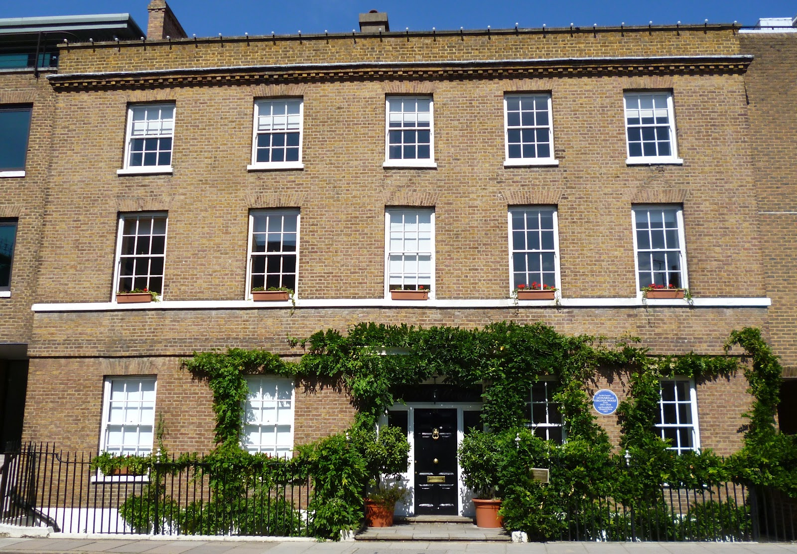 Dr tony shaw virginia woolf in richmond and bloomsbury for Virginia house