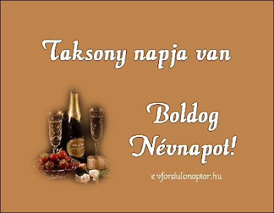 November 29 - Taksony névnap