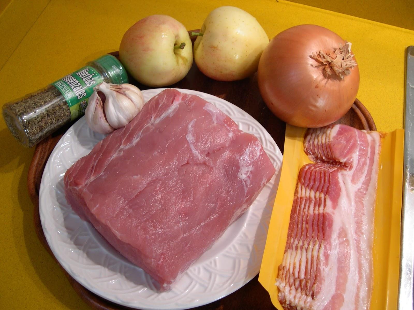 Las recetas de puri gonz lez p rez cinta de lomo con for Cocinar cinta de lomo al horno