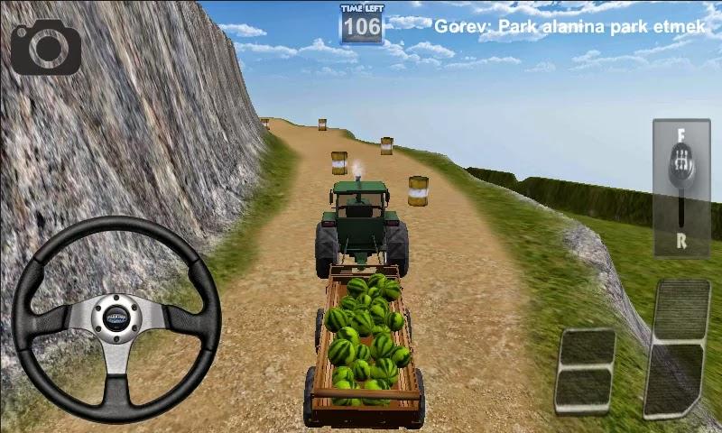 Android Traktör Sürme Oyunu 3D Apk resimi 4