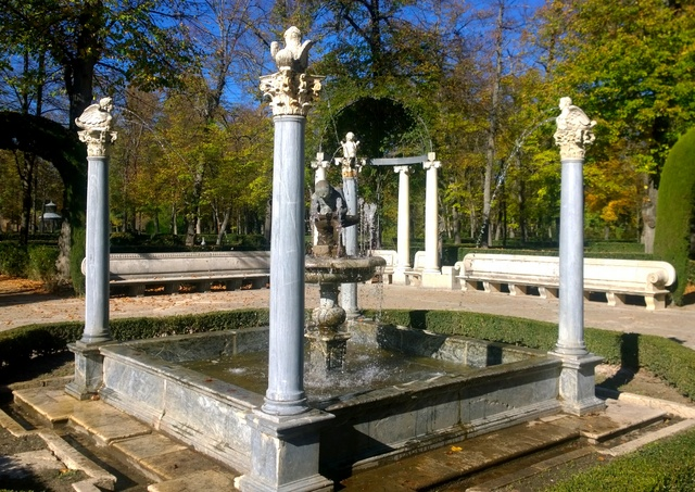 estatua palacio aranjuez