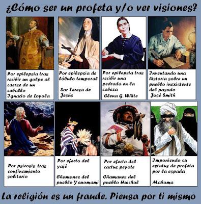 Blog sin dioses diez razones de por qu hay tantas religiones for Espejo que se ve por el otro lado
