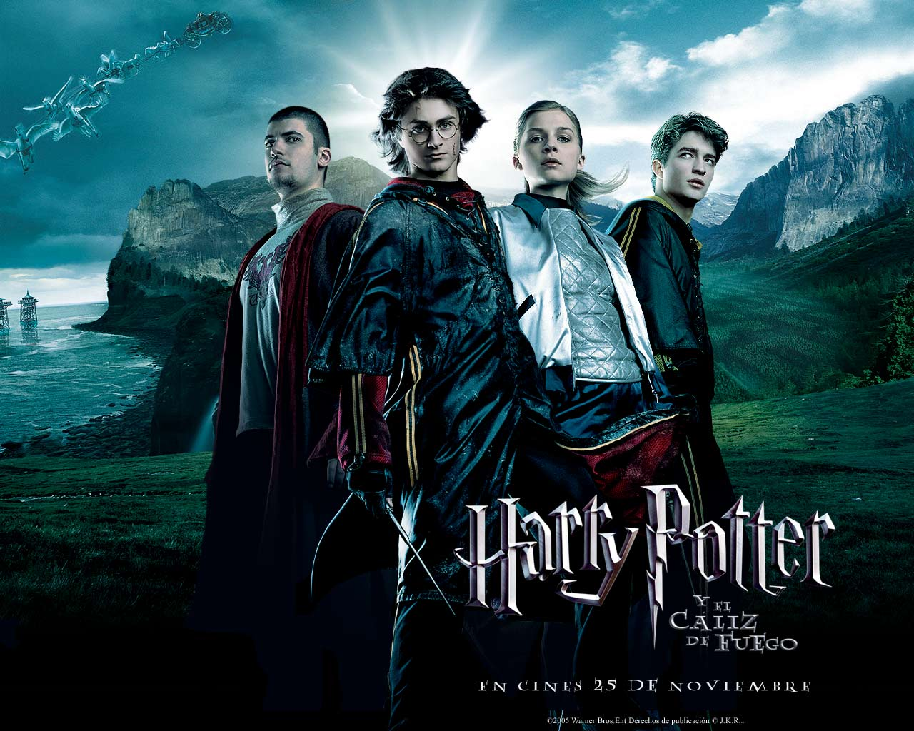 Harry Potter y El Caliz de Fuego - Wallpaper Harry Potter ...