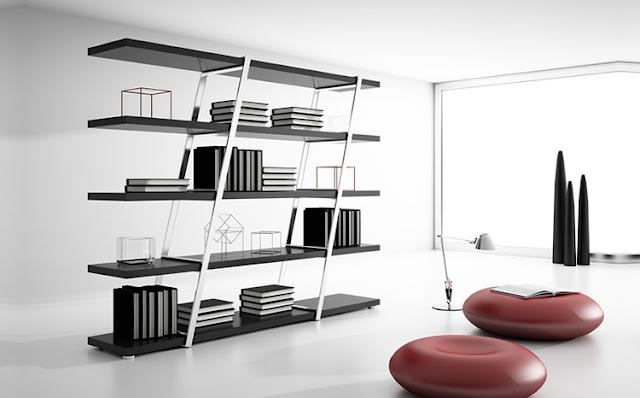 Muebles de dise o moderno y decoracion de interiores - Librerias de diseno ...