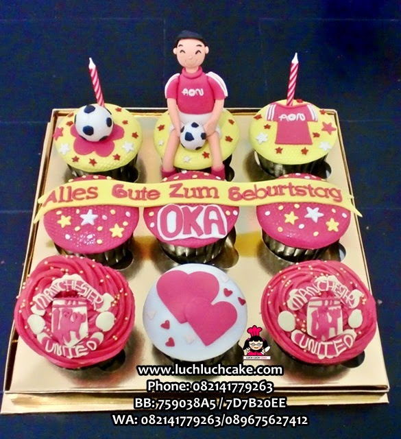 Cupcake Manchester United Daerah Surabaya - Sidoarjo