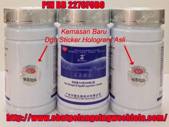 Obat pelangsing ampuh wsc biolo original