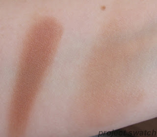 St. Lucia cream bronzer swatch