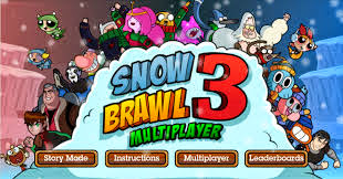 Game Snowbrawl 3 Multiplayer