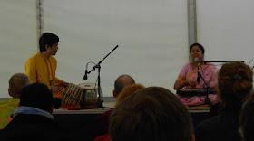 Shirin Sengupta and Rupak Bhattacharjee - Festival Orient, Tallinn - Photo credit Hilary Glover