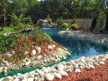 River Rock Design Ideas cute landscaping with river rock River Rock Landscape Design Ideas