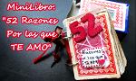 MiniLibro: 52 razones por las que te amo