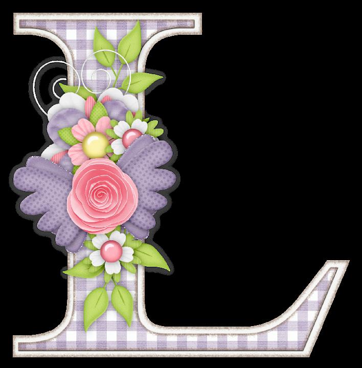 Escuela infantil castillo de blanca abecedario flores - Letras decoradas infantiles ...