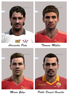 Download Facepack PES 2013 by Alex7